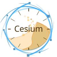 Logo de l'application Cesium, application web cliente pour Duniter