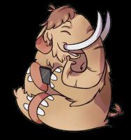La mascotte du projet Mastodon