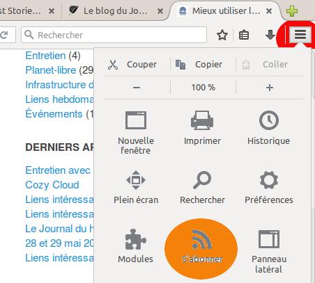 flux depuis Firefox